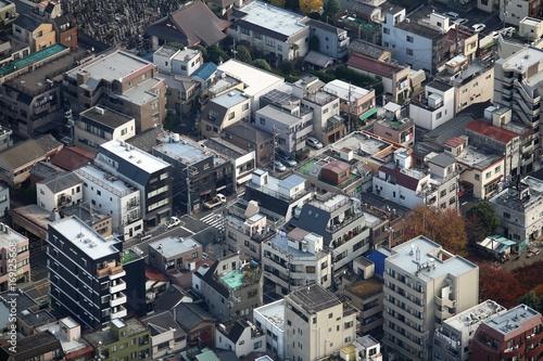 Fotobehang Tokio Residential Tokyo