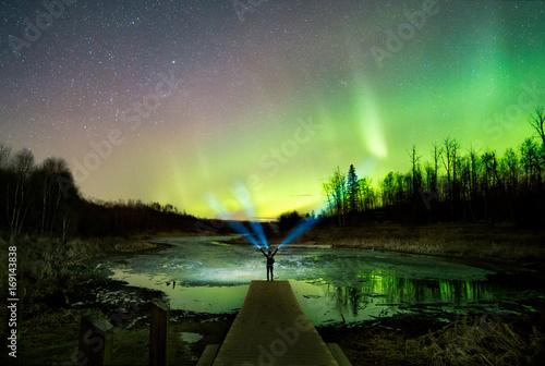 Aluminium Noorderlicht Aurora Lake