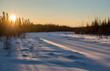 Sunrise in Riding Mountain, Manitoba