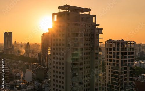 Foto op Plexiglas Buenos Aires Skyline Buenos Aires