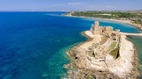 Aerial view of Fortezza Aragonese, Calabria, Italy - 169173207