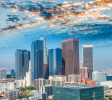 Aerial view of Downtown Los Angeles - 169174297