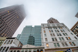 Buildings of Downtown San Francisco with fog - 169176647