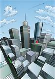 Fototapety City Background