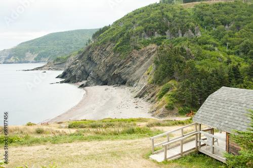 Fotobehang Canada Meat Cove in Cape Breton - Nova Scotia - Canada