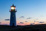 Lighthouse List West after sunset.  - 169184694