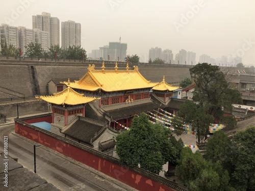 Fotobehang Shanghai temple