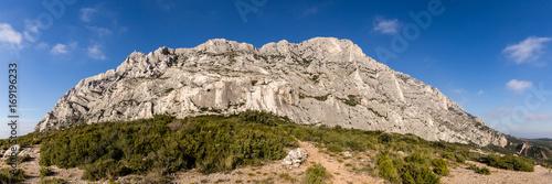 the Sainte-Victoire mountain, near Aix-en-Provence, which inspired the painter Paul Cézanne