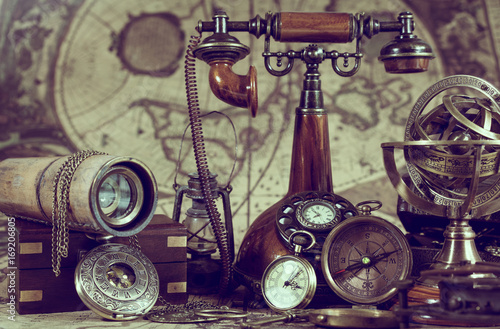 Antique Compass Pirate Collection