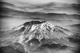 Mount St Helens as seen from airplane - 169213408