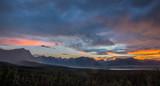 Fototapeta Fototapety góry  - Glacier-Waterton Landscape © Jillian