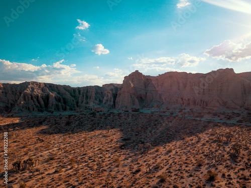 Fotobehang Diepbruine Canyons