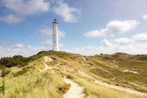 Aluminium Vuurtoren Lyngvig lighthouse