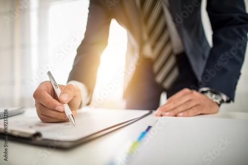 Fototapeta Podpisanie umowy