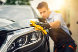 Car detailing concept. Auto cleaning and polish. - 169234248