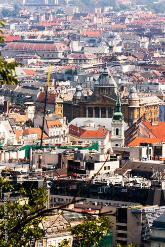 Papiers peints Budapest Panorama di Budapest