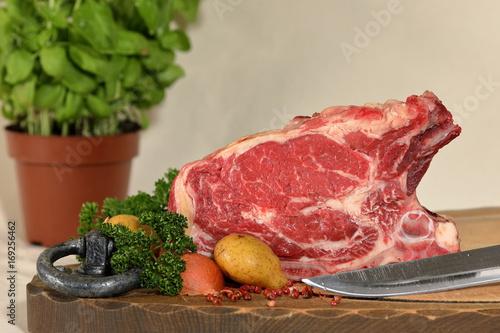 Frisches Rindfleisch Poster