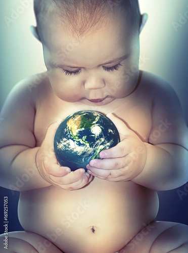 world in the babys hands