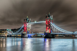 Union Jack Colours London Bridge - 169302849