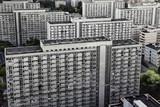 Fototapety bloki mieszkalne