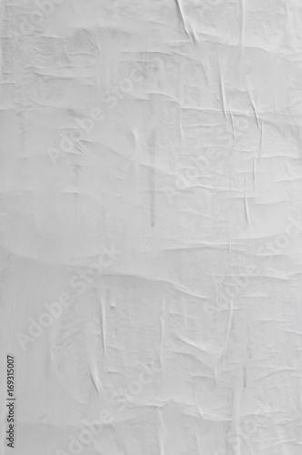 Puste pognieciony i pomarszczony papier tekstury