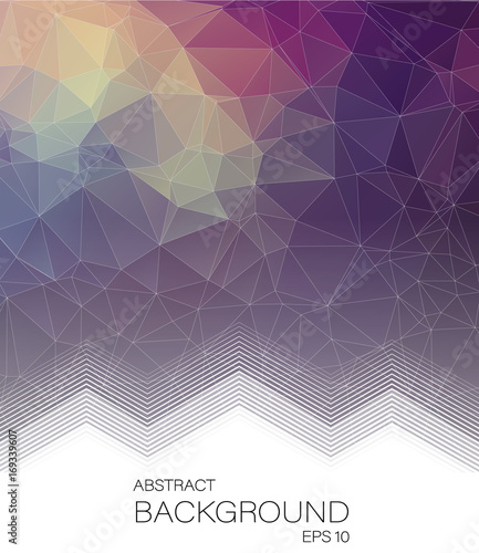 Fotobehang Geometrische Achtergrond Abstract Vertical 2D geometric background