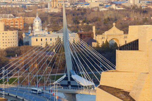 Foto op Plexiglas Canada Skyline of Winnipeg