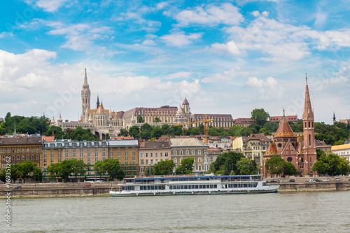 Foto op Canvas Boedapest Budapest and river Danube