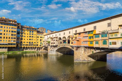 Fotobehang Florence Ponte Vecchio bridge in Florence