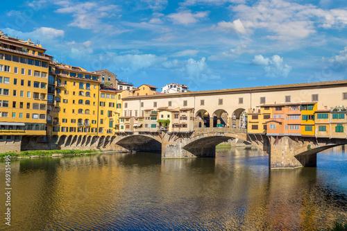 Papiers peints Florence Ponte Vecchio bridge in Florence