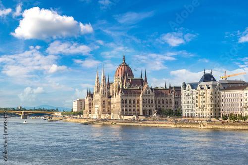 Foto op Plexiglas Boedapest Parliament building in Budapest