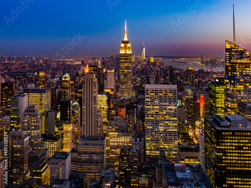 Foto op Aluminium New York NYC Skyline