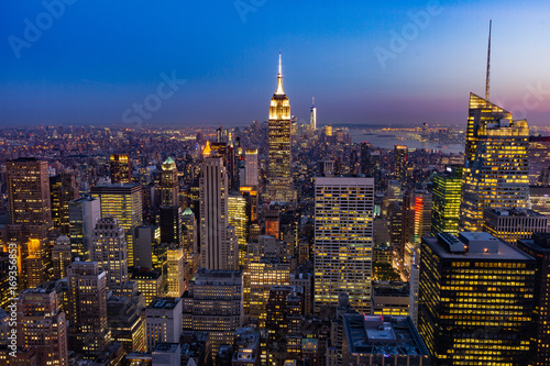 Tuinposter New York Top of the Rock