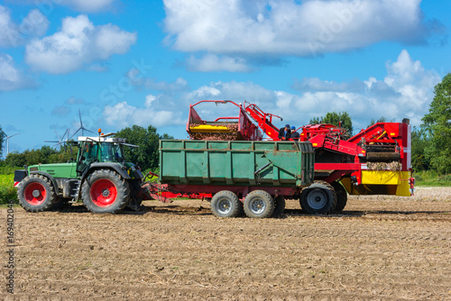 Loading of the harvested potatos - 0020
