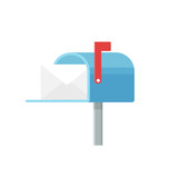Mailbox icon vector - 169414485