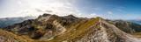 Bergpanorama Wallis, Alpen im Valais, la Brinta, von Vercorin nach Grimnetz, Eifischtal, Schweiz