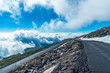 Mount Evans Scenic Byway Above the Clouds