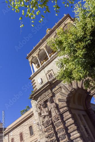 Fotobehang Palermo Porta Nuova gate in Palermo, Italy