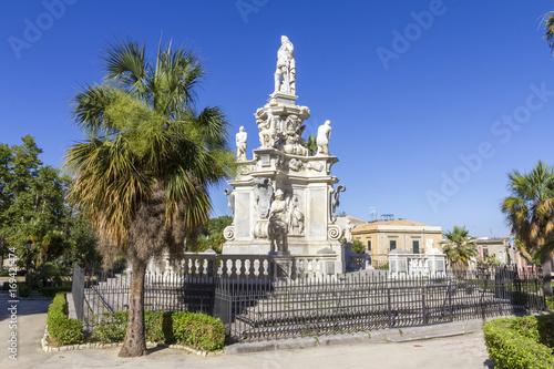 Foto op Aluminium Palermo Baroque statue in Palermo, Italy