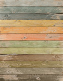 Vintage color wood planks vertical background