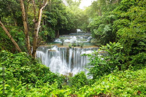 beautiful waterfall in Thailand - 169430837