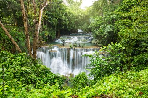 piękna siklawa w Tajlandia