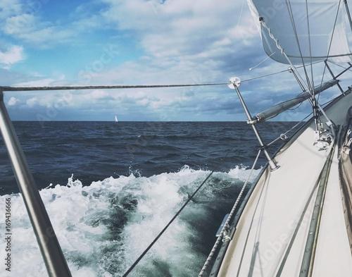 Papiers peints La Mer du Nord Segeln und Freiheit auf der Nordsee