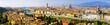 Quadro Florence Italy cityscape panoramic