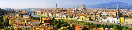Fotobehang Florence Florence Italy cityscape panoramic