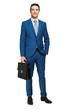 Businessman full length portrait