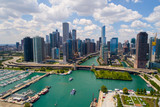 Stock photo of Chicago aerial pov - 169450051