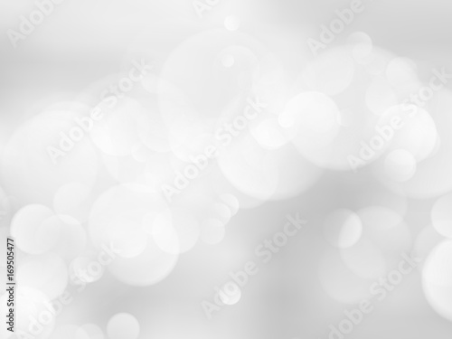 abstract bokeh silver background