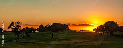 環境イメージ 草原の落陽 - 169510679