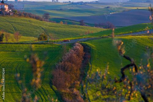 Aluminium Toscane Colline toscane